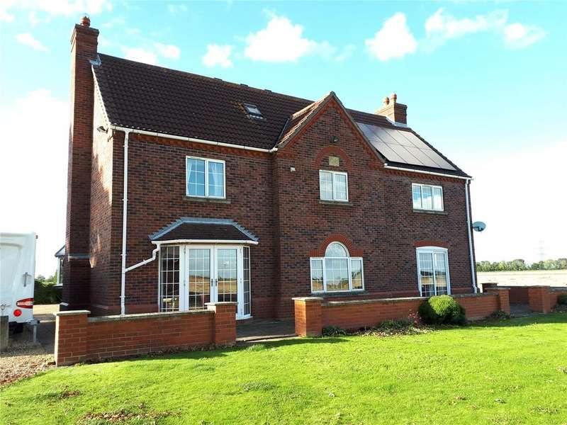 3 Bedrooms Detached House for sale in Great Hale, Sleaford, Lincolnshire