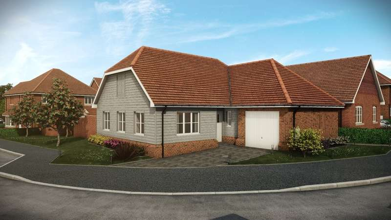 2 Bedrooms Detached Bungalow for sale in Loxwood Green, Guildford Road, Loxwood