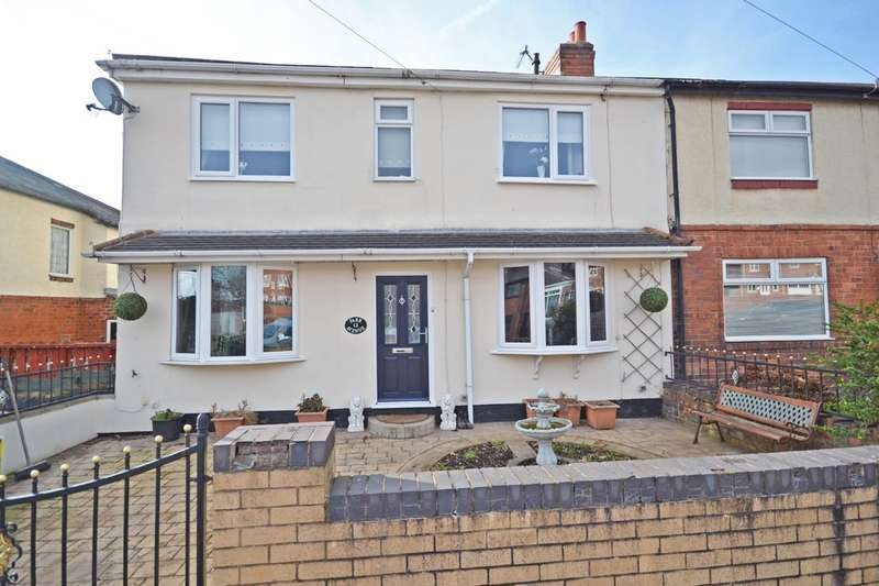 4 Bedrooms Semi Detached House for sale in Park Avenue, Lofthouse, Wakefield