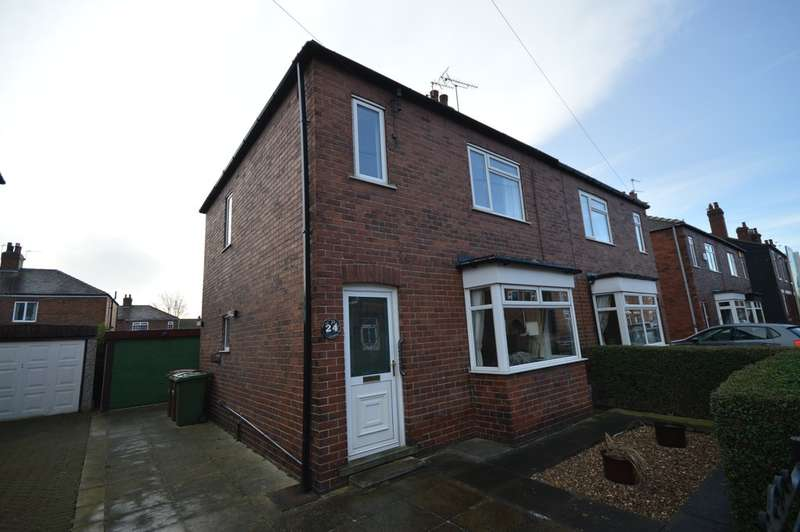 3 Bedrooms Semi Detached House for sale in Major Street, Thornes, Wakefield