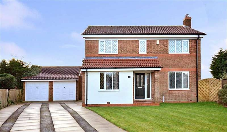 4 Bedrooms Property for sale in Chestnut Close, North Duffield, Selby, YO8