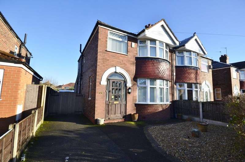 3 Bedrooms Semi Detached House for sale in Crofton Avenue, Timperley, Altrincham