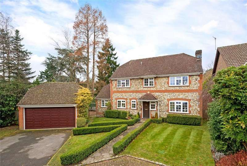 5 Bedrooms Detached House for sale in Turpins Rise, Windlesham, Surrey, GU20