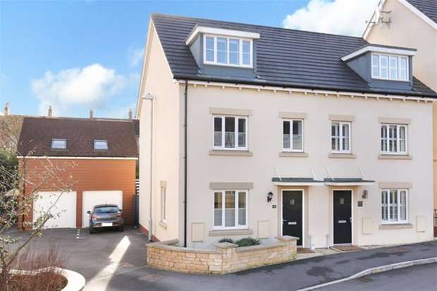 3 Bedrooms Semi Detached House for sale in Great Western Street, Frome