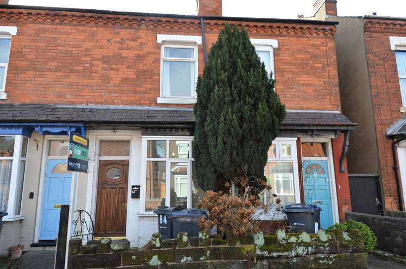 2 Bedrooms Terraced House for sale in Addison Road, Kings Heath, Birmingham, B14