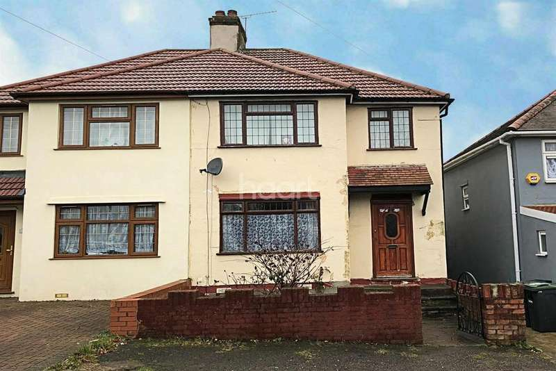 3 Bedrooms Semi Detached House for sale in Leicester Road, LU4