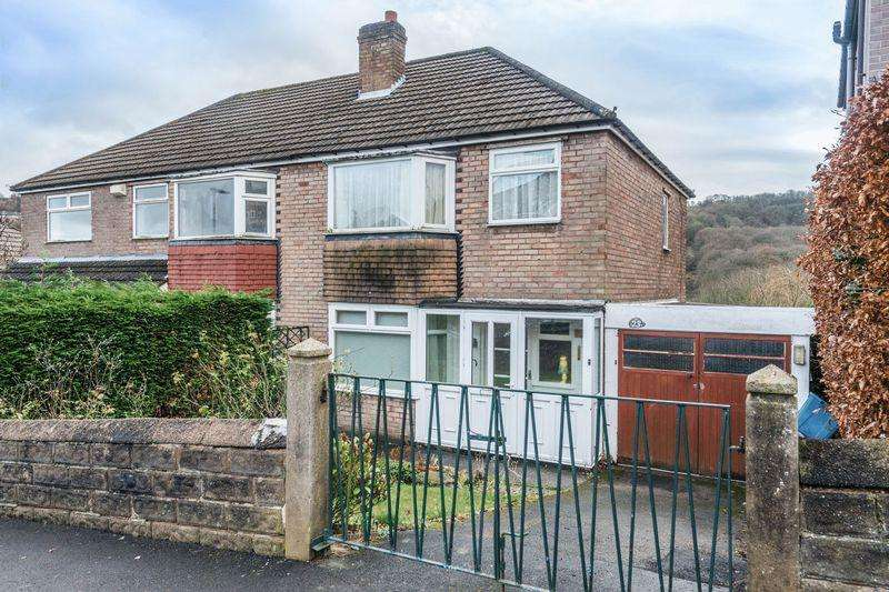 3 Bedrooms Semi Detached House for sale in Hollins Drive, Rivelin, S6 5GP - Attractive Backwater Location