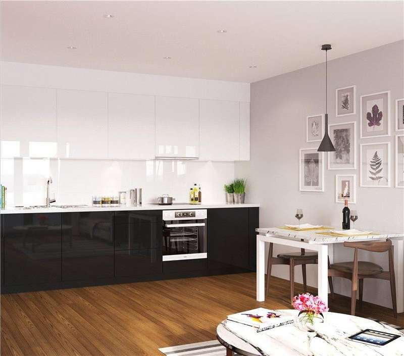 2 Bedrooms Flat for sale in Discovery Tower, Hallsville Quarter, Canning Town, London, E16