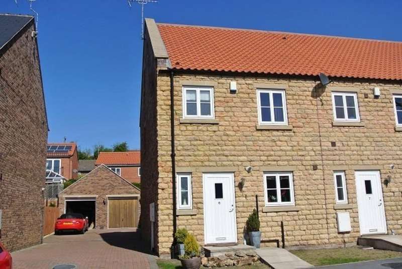 4 Bedrooms Semi Detached House for sale in Old Green Close, Whitwell, S80