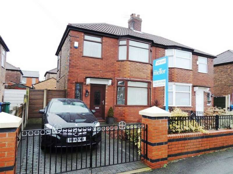 3 Bedrooms Semi Detached House for sale in Newhaven Avenue, Delamere Park, Manchester