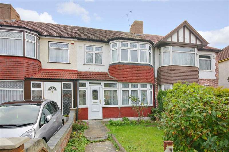 3 Bedrooms Terraced House for sale in The Fairway, Palmers Green, London