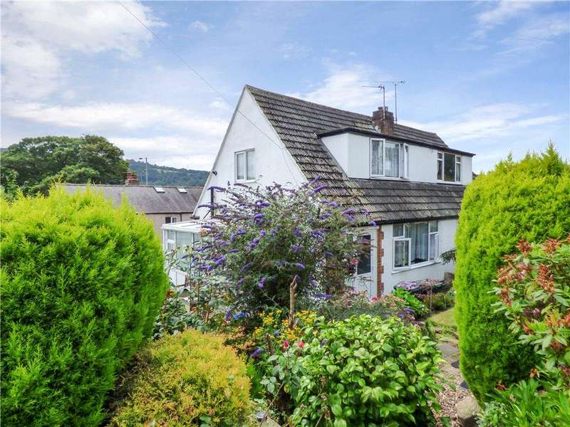2 Bedrooms Semi Detached House for sale in Moor View Court, Sandbeds, Keighley, West Yorkshire