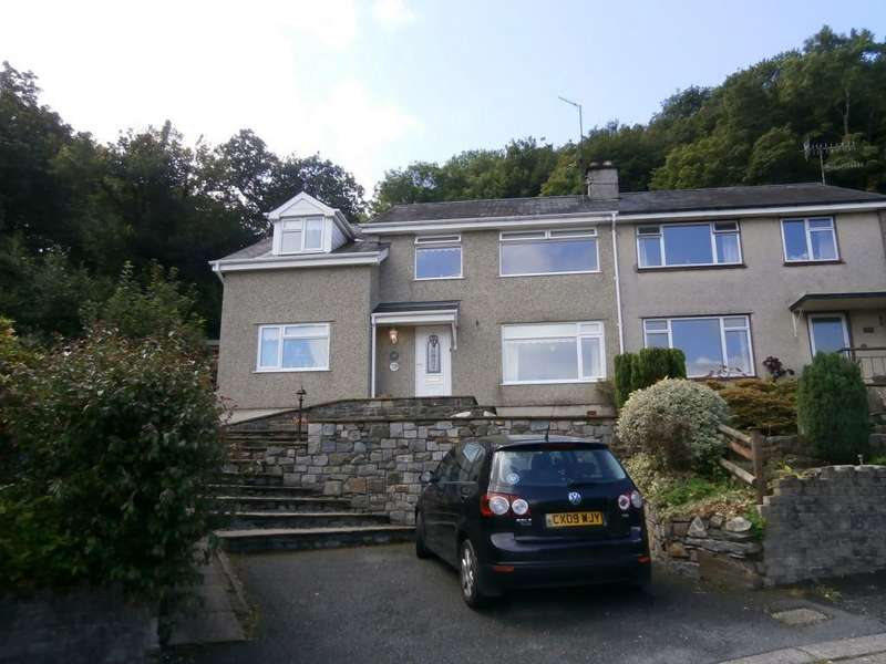 5 Bedrooms Semi Detached House for sale in Morfa Lodge Estate, Porthmadog LL49