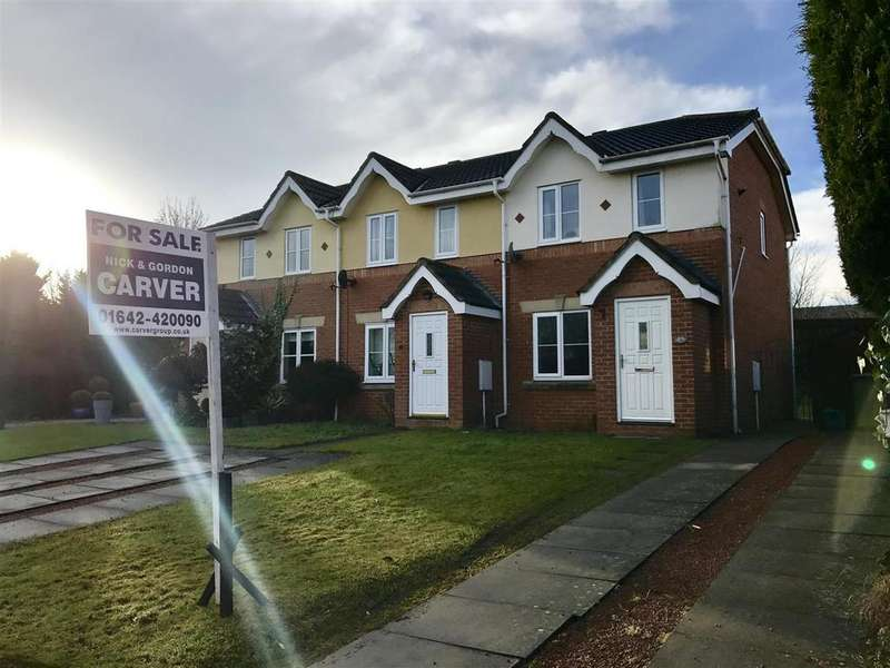 2 Bedrooms Semi Detached House for sale in Trevithick Close, Eaglescliffe.