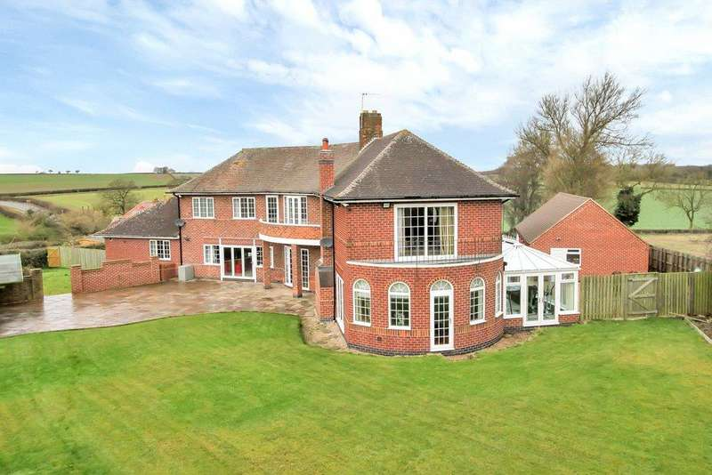 5 Bedrooms Detached House for sale in Osgathorpe, Loughborough