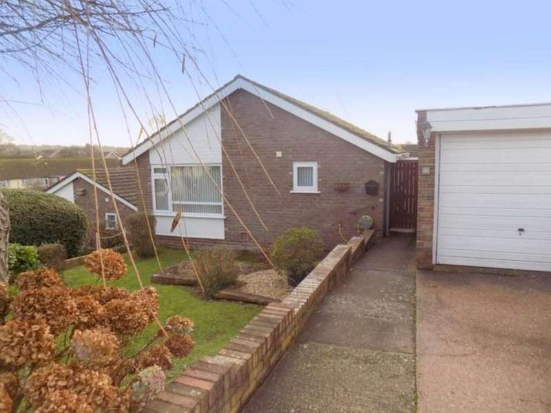 2 Bedrooms Detached Bungalow for sale in Brixington Drive, Exmouth