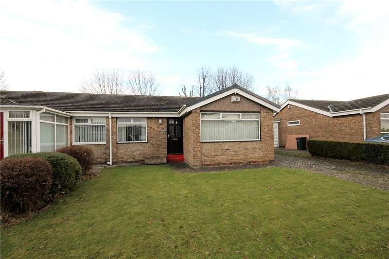 2 Bedrooms Semi Detached Bungalow for sale in St Albans Close, Great Lumley, Chester le Street, DH3