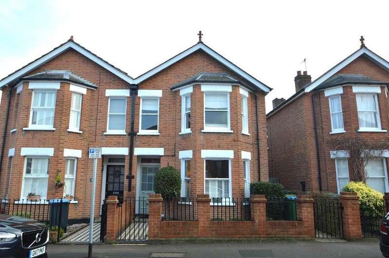 4 Bedrooms Semi Detached House for sale in Minorca Road, Weybridge KT13
