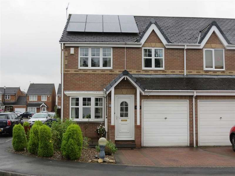 3 Bedrooms Semi Detached House for sale in Marwell Drive, Usworth Hall, Washington