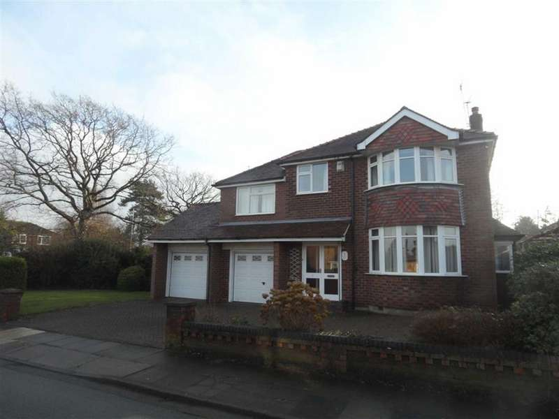 4 Bedrooms Detached House for sale in Drayton Drive, Heald Green