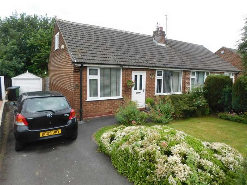 2 Bedrooms Semi Detached Bungalow for sale in Thornholme Road, Marple, Stockport