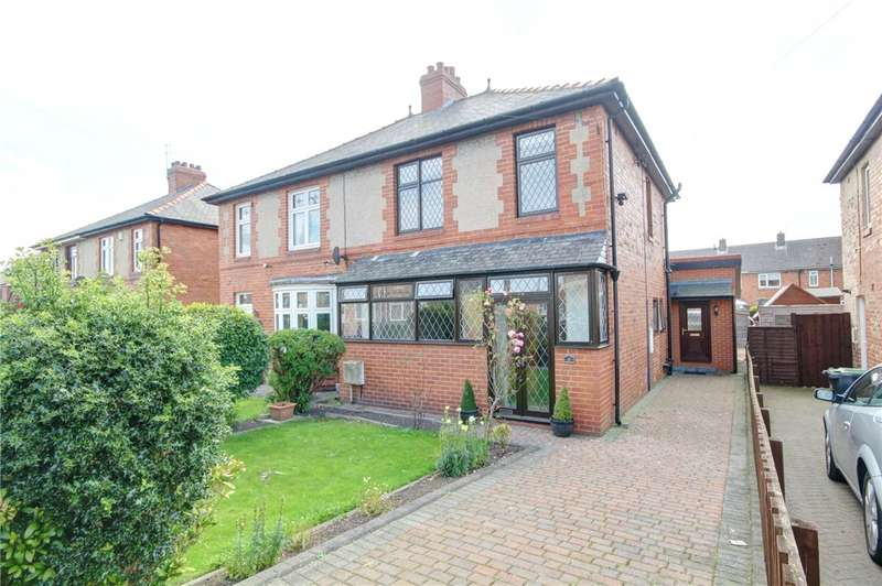 3 Bedrooms Semi Detached House for sale in Park Road, Sherburn Village, Durham, DH6