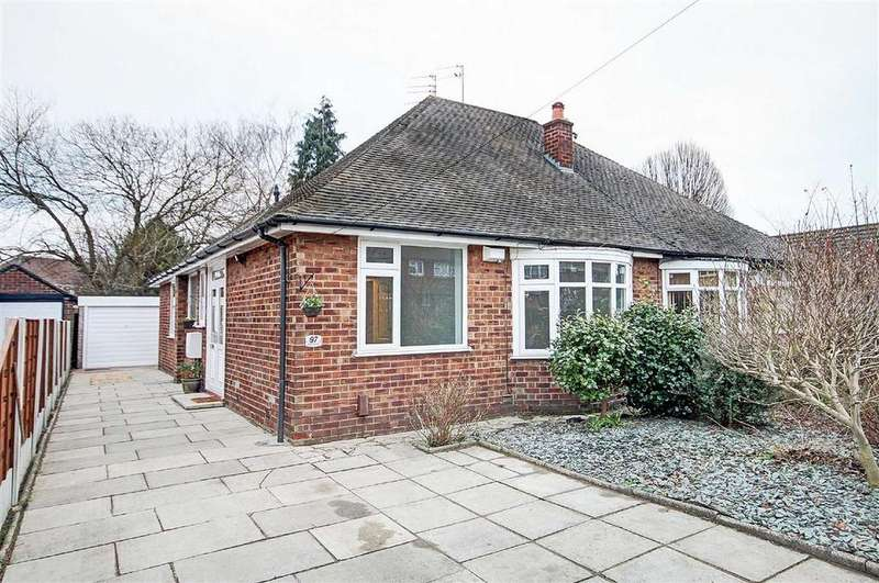 2 Bedrooms Semi Detached Bungalow for sale in Aimson Road East, Timperley, Cheshire