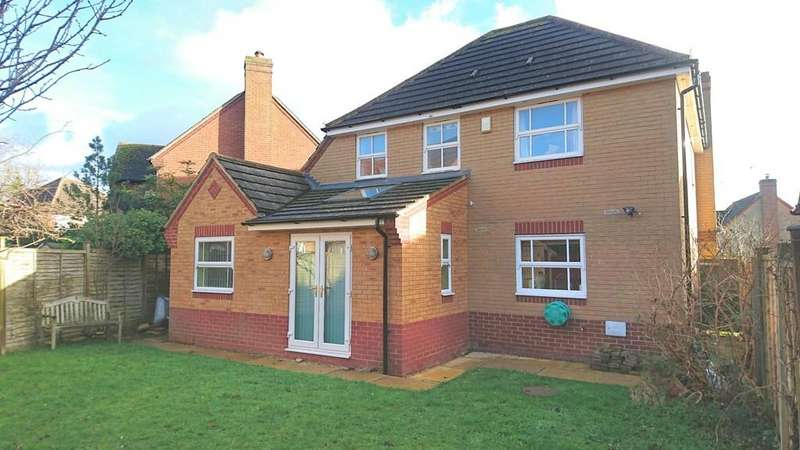 4 Bedrooms Detached House for sale in Humphries Drive, Brackley