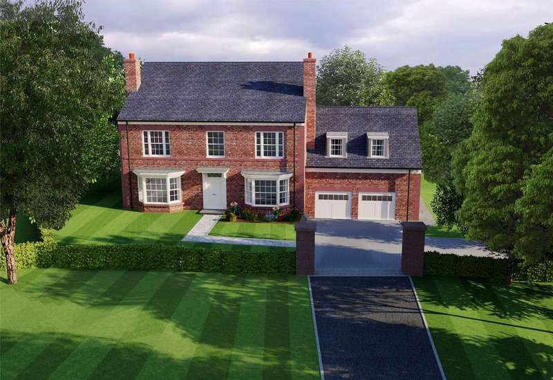 5 Bedrooms Detached House for sale in Elm House, Eaton Green, Eaton Lane, Eaton, Cheshire, CW6