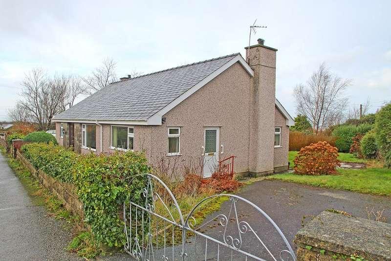 2 Bedrooms Detached Bungalow for sale in Rhostryfan, Caernarfon, North Wales