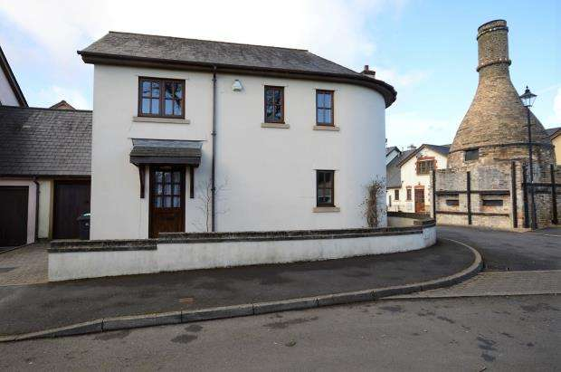 3 Bedrooms Link Detached House for sale in Pottery Yard, Liverton, Newton Abbot
