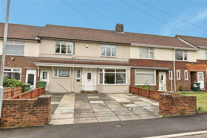 3 Bedrooms Terraced House for sale in Rottingdean Close, Stockton-on-Tees