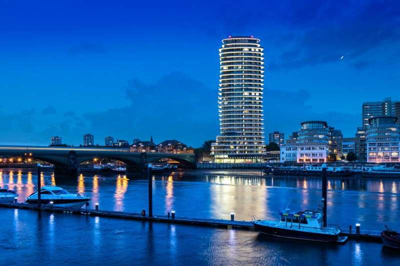 3 Bedrooms Penthouse Flat for sale in Lombard Wharf, Battersea, SW11