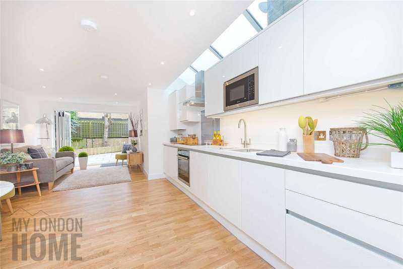2 Bedrooms Apartment Flat for sale in Meadow Road, Vauxhall, London, SW8