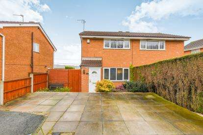 2 Bedrooms Semi Detached House for sale in Farnhill Close, Windmill Hill, Runcorn, Cheshire, WA7