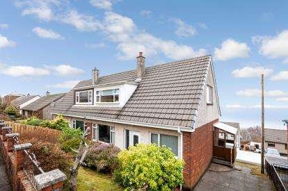 3 Bedrooms Semi Detached House for sale in Gleneagles Drive, Gourock