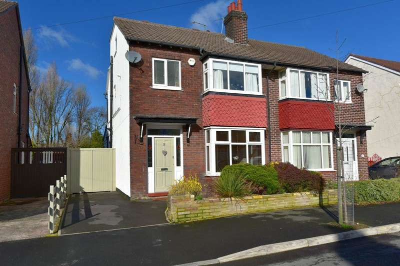 4 Bedrooms Semi Detached House for sale in Aldersgate Road, Offerton, Stockport, Cheshire, SK2 6DE