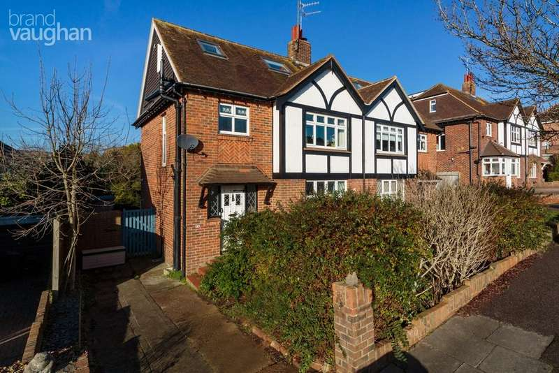 4 Bedrooms Semi Detached House for sale in Queen Victoria Avenue, Hove, BN3