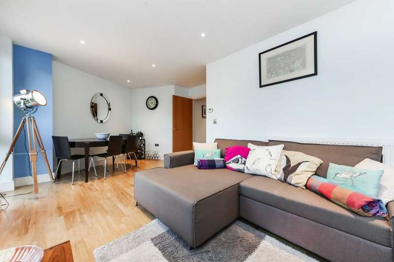 2 Bedrooms Flat for sale in Hartington Road, London SW8