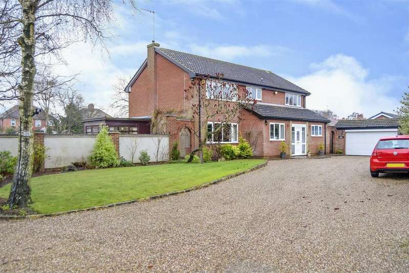 5 Bedrooms Detached House for sale in Radmanthwaite Road, Mansfield