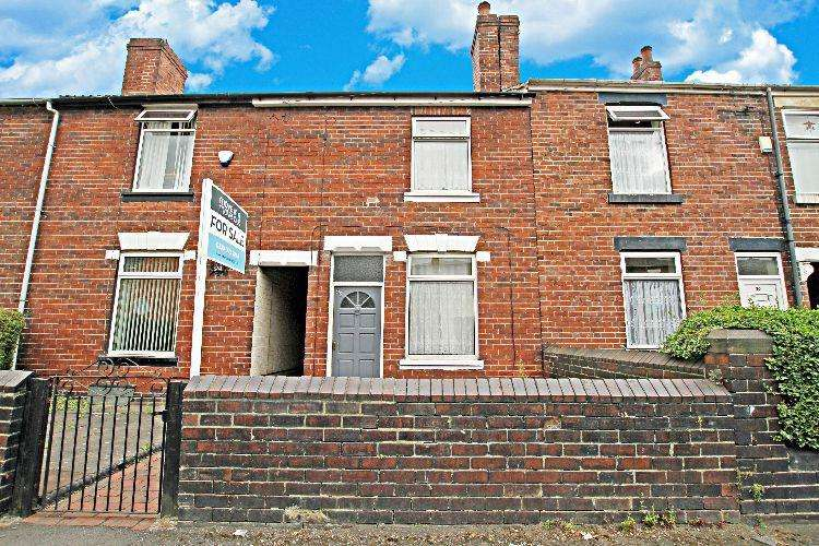 3 Bedrooms Terraced House for sale in Clough Street, Rotherham