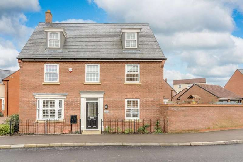 5 Bedrooms Detached House for sale in Pillow Way, Buckingham