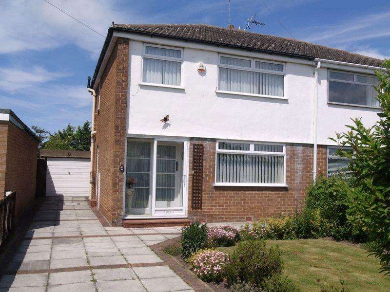 3 Bedrooms Semi Detached House for sale in Kenilworth Drive, Pensby