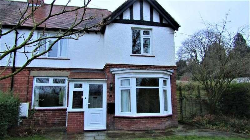 3 Bedrooms Semi Detached House for rent in Belle Vue Road, Ashbourne