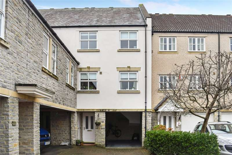 4 Bedrooms Terraced House for sale in St. Andrews Mews, Wells, Somerset, BA5