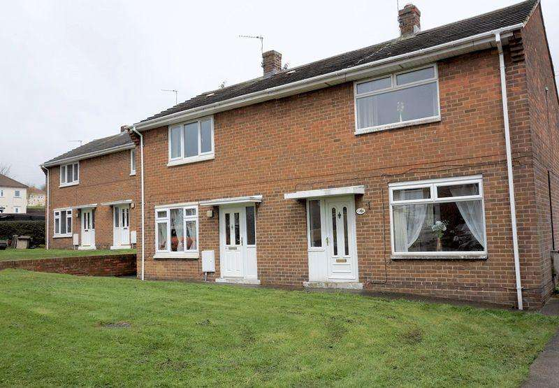 2 Bedrooms Semi Detached House for sale in Coquet Gardens, Stanley