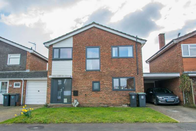 4 Bedrooms Detached House for rent in Millards Close, Flitwick, MK45
