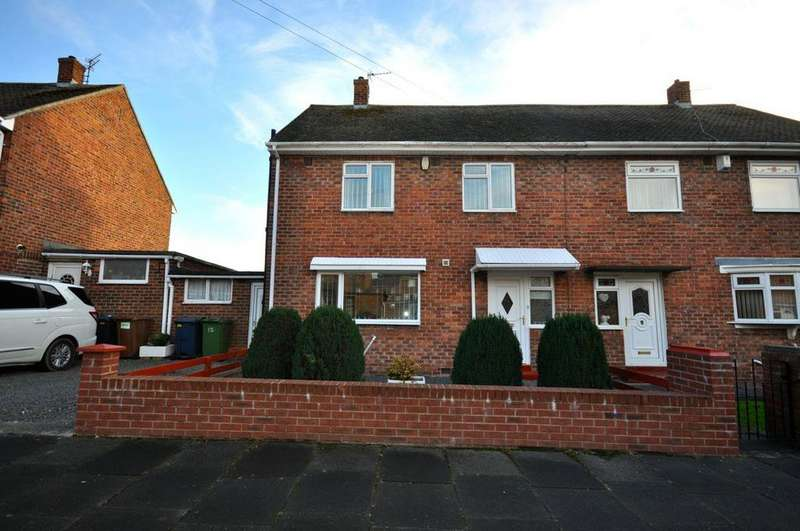 3 Bedrooms Semi Detached House for sale in Tunbridge Road, Thorney Close, Sunderland