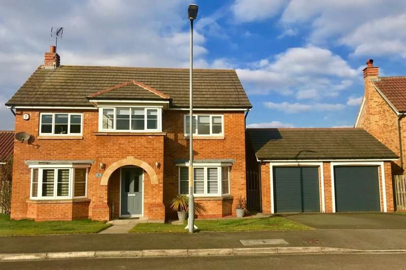 5 Bedrooms Detached House for sale in Ramsey Gardens, Ingleby Barwick, Stockton-on-tees, TS17