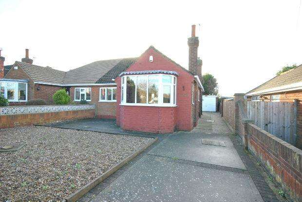 2 Bedrooms Semi Detached Bungalow for sale in Barry Avenue, Grimsby